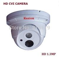 New Style CCTV Camera CVI DAHUA Chipset 1.3Megapixel HD 720P Dome Security camera Surveillance camera KU-C1102CC