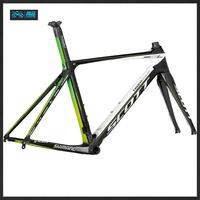 Ultra light carbon fiber bicycle frame front fork road /3K/UD/ send + seat tube + base pipe clip + bowl group