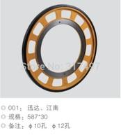 Elevators driver friction wheel 587*30 hole 12mm for elevator lift escalator