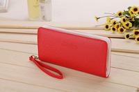 1pcs/lot Free Shipping women purse pu  leather handbags fashion lady Purse 9 colors
