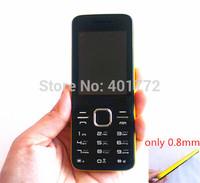 NEW Ultra Slim Cell Phone 2.4'' Big Screen L5 Dual Sim Card MP3 FM Radio Camera Bluetooth Cheap Mobile Russian Keyboard French