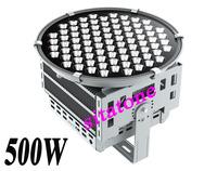 free shipping IP65 AC85-265V 500W led spot light,Fishing lights 2 years warranty,CREE XML LED
