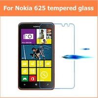 """New 0.33mm 9H For NOKIA Lumia 625 625h Max 4.7"""" Premium Tempered Glass Anti-shatter explosion proof LCD Screen Protector Films"""