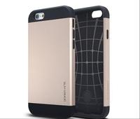 "10pcs/lot Slim armor case for IPhone 6 TPU+PC SGP SPIGEN TOUGH armor anti-knock cover case for IPhone 6 4.7"" free shipping"