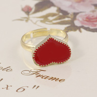 Christmas gifts new hot sell Romantic fashion Metal pattern Heart Rings lady wedding rings for women men 2014 Wholesale PT32