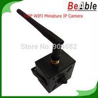 1280 * 720P 1.0 MegaPixel HD Mini IP Camera P2P mobile view WiFi Pinhole lens Hidden  Network Camera