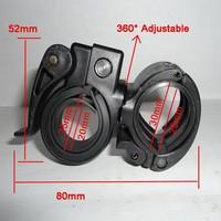 SKU 33# High Quality 1pcs Cycling Bicycle 360 Degree Adjustable Flashlight Light Mount Handlebar Bike Good and New