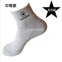 Men's Casual Sport Socks Cotton Top Quality Athletic Socks 6pairs/lot Free shipment