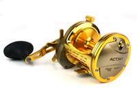 Available Free Shipping ACT341A 6.2:1 3BB+1RB bait casting reels lur Tackle fishing reels Fishing Wheel Boat Fishing Reel Ocean