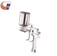 Free shipping Mini High Pressure Spray Gun Silver Aluminum Color Shinning Body 1.3mm with 300ml cup