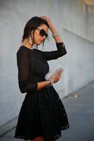 vestido de festa curto com renda 2014 women new fashion blace semi formal dresses lace patchwork  mini casual dress sexy