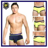 Free shipping! New 2015 men underwear low waist cuecas boxer hot sale brand men's boxers calzoncillos hombre 2 Colors(N-538)