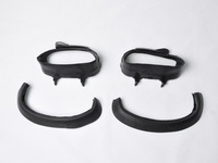 Free Sjhipping Air Intake Rubber Tube Duct For YZF 1000 R1 2004 2005 2006 With Gaskets [HL16]