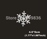 Beautiful snowflake design hot fix rhinestones heat transfer design iron on motifs patches,fashion rhinestones(ss-6030)