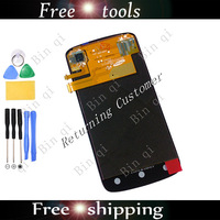 100% Original Free Shipping Replacement LCD Display Touch Screen+Digitizer Assembly For HTC One S Z520e Z560e with free tools