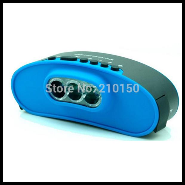 New bike sport bluetooth speaker with waterproof TF FM bell ,Handsfree bluetooth speaker with LED light(China (Mainland))