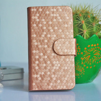 Pu Leather Wallet Phone Cases For Sony Xperia M C1905 C1904 Phone Bag With Card Holder and View Stand