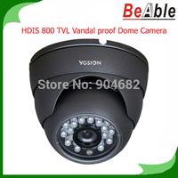 800 TVL Resolution HD Vandalproof IP Camera P2P Indoor 23pcs IR LEDs IR-CUT Night Vision Network Dome Camera
