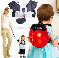 Kids Baby Safety Walking Harness Cartoon Bat Ladybird Anti-Lost Backpacks Leash for Children