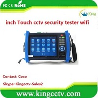 new ip camera cctv tester touch screen DC12V cctv security test Equipment ipc PTZ tester wifi (HK-TM806IPC)