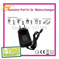 9V 2A AC  DC Power Supply Adapter  Wall Charger For ONDA V101W US / EU /AU /UK Plug Free Shipping