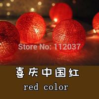 LED Chandelier Ball Lamp Luminous Light Luminaria Home Decoration Navidad Lamp Xmas Lighting String Cotton Ball Pendant Lights