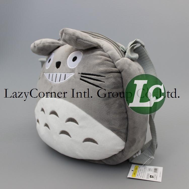 Japan Anime 23*22cm 50pcs/lot High Quality Totoro Backpack Helloween Cosplay Bag Christmas Gift(China (Mainland))