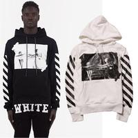 Top version !black white brand graphic hoodies citi trends clothes asap rocky drake pyrex vision off white virgil abloh
