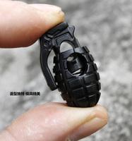 Three-color k207 clip shoelace buckle grenade shoelace buckle non-slip buckle rope clip