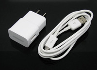 Home 5V/2A Wall Charger Power Adapter + 5 FT Micro USB Cable for Samsung Galaxy S4 S3 NOTE 2 i9500 Charger US/EU Plug White