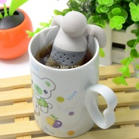 Free shipping2pcs Mr.Tea Infuser / Mr.Tea Mr Tea Strainers  IA864 P