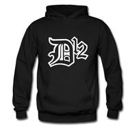 Eminem D12 eminem 2014 new autumn and winter thick hooded sweater hedging men hoodies fleece mens hoodies and sweatshirts hoody