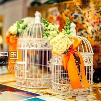 Wedding decoration wedding decoration wrought iron bird cage wedding decoration props