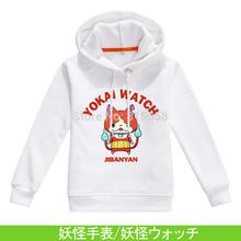 Children's clothes Hoodies  Youkai Watch FREE SHIPPING Japanese Animation Cute! Yo-kai Watch Youkai Watch Jibanyan  (China (Mainland))