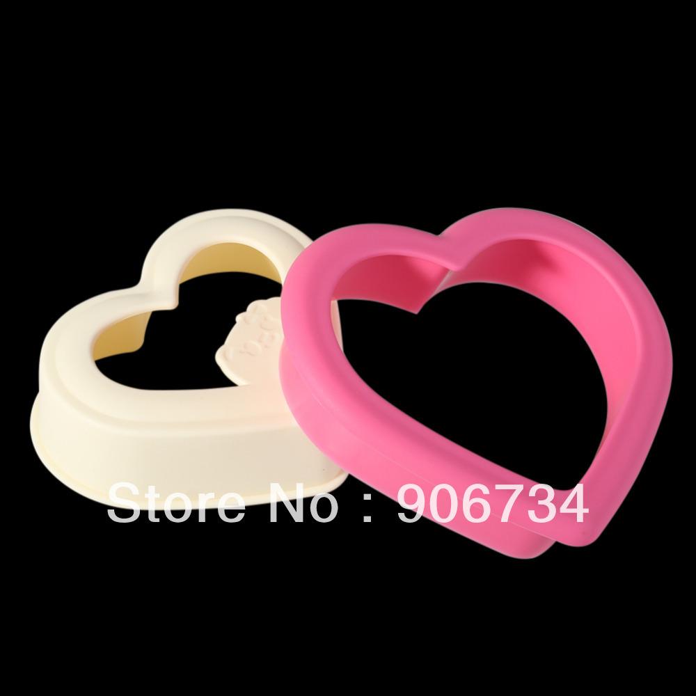 livre novo design em forma de coração shippinglovely sanduicheira pão mofo cutter para uso doméstico e bar(China (Mainland))