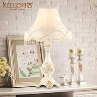 Fashion table lamp table lamp bedroom bedside lamp rustic decoration dimming lamp