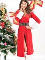Europe winter new C long sleeved long dresses ladies Christmas costume women clothing Dropship DL7161