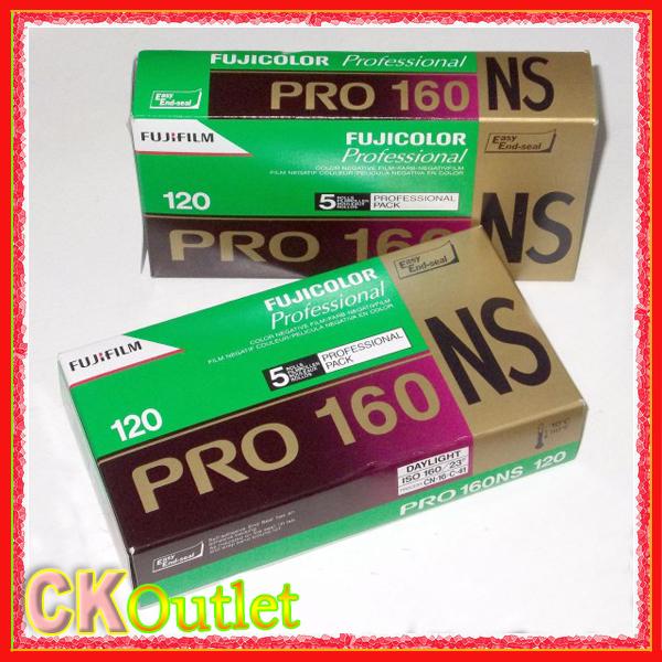 100% Original Fuji Fujifilm Fujicolor Professional PRO160 NS Color print film 5 Rolls/Lot MADE IN JAPAN w/Free Gift(China (Mainland))