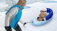 Inflatable snow tube .sledge child skiing board t hickening inflatable ring hot-selling products Christmas