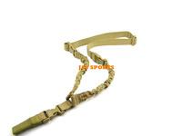 Cobra One Point Tactical Gun Sling Bungee Rifle Sling In Tan+Free shipping(SKU12050063)