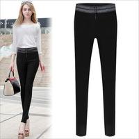 New 2014 women winter autumn fashion Europe and good quality spandex pants brand wild casual pants slim leggings