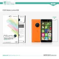 Super Clear Anti- fingerprint Protective Film For NOKIA Lumia 830  Free Shipping