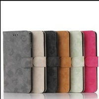 HOT Wallet Leather Case For Iphone 6 Plus Iphone6 5.5'' 5.5 Credit ID Card Stand Holder Purse Money Pocket