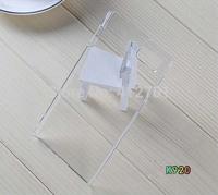 300pcs/lot Free shipping Hot selling DIY Crystal clear transparent hard Plastic back cover case for Lenovo VIBE Z2 Pro K920