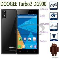 DOOGEE Turbo2 DG900 Smartphone MTK6592 octa core 1.7GHz Android 4.4 kitkat 18MP 2GB RAM 16GB ROM 5 inch FHD Smart Gesture 3G Un