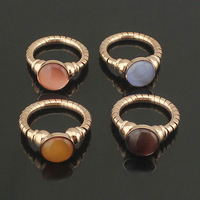 Foreign trade male and female models of artificial diamond ring ceramic ring gear