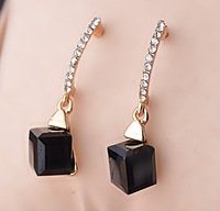Crystal new style pendientes earrings for women free shipping