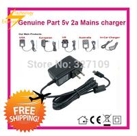 5V 2A  2000mA AC  DC Power Supply Adapter Wall Charger For Ployer MOMO8W US UK AU EU PLUG