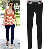 New 2014 women winter pants brand Europe and good quality wild stretch slim fit slacks high street leggings jeans