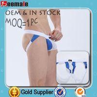 Better Discount Seemale Underwear Sexy Wj Sexy Mens Underwear Gay Mesh Mens Thongs Sex Jockstraps Sw4003-Sd